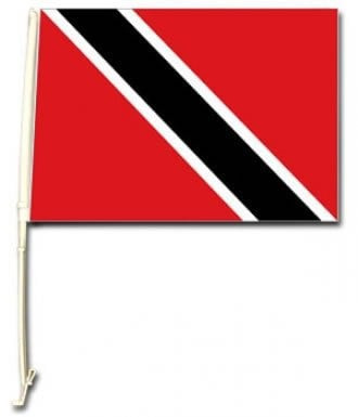 Single Trinidad Car Window Flag